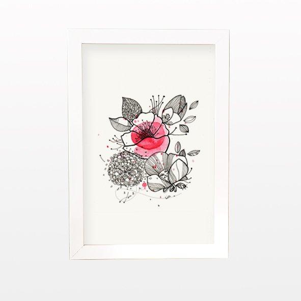 تابلو گلهای بهاری
