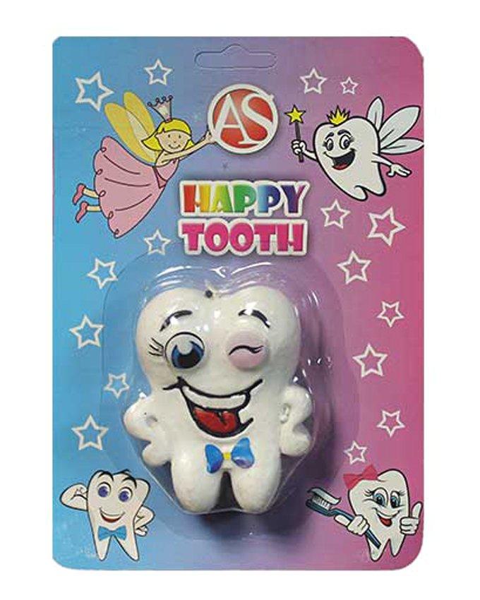 شمع برجسته مدل دندان طرح پسرانه