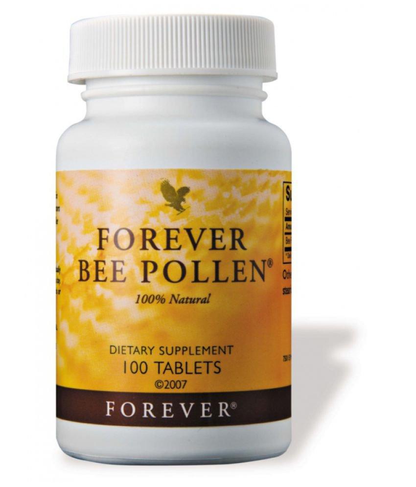 مکمل غذایی فوراور لیوینگ مدل Bee Pollen محتوی 100 قرص