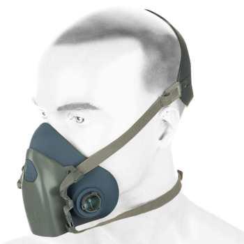 ماسک تنفسی نیم صورت دوفیلتر نیکا مدل 7502