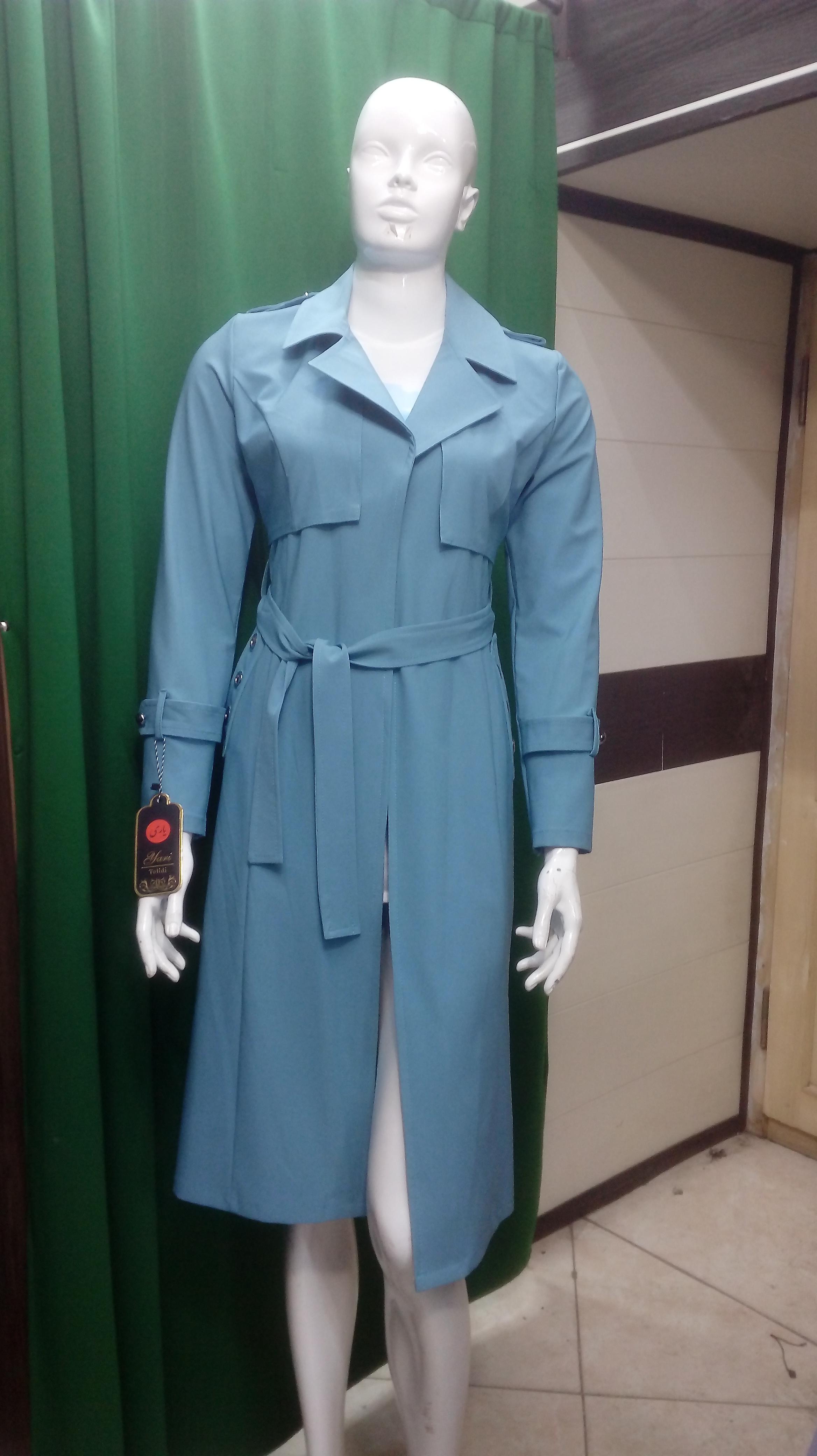 مانتو اسپورت زنانه بوگاتی رنگ سبز کد 981/1