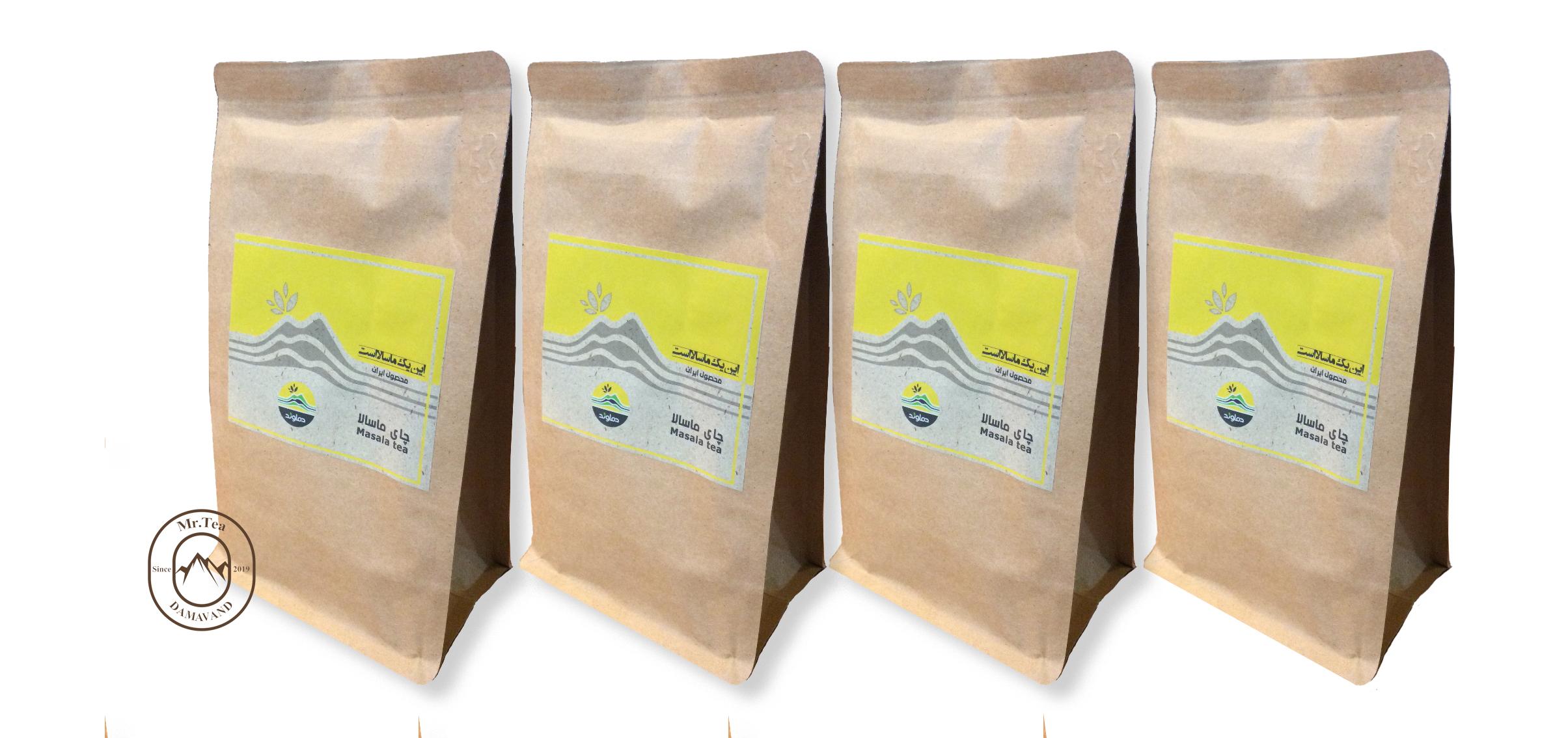 چای ماسالا کلاسیک 4 بسته 500 گرمی