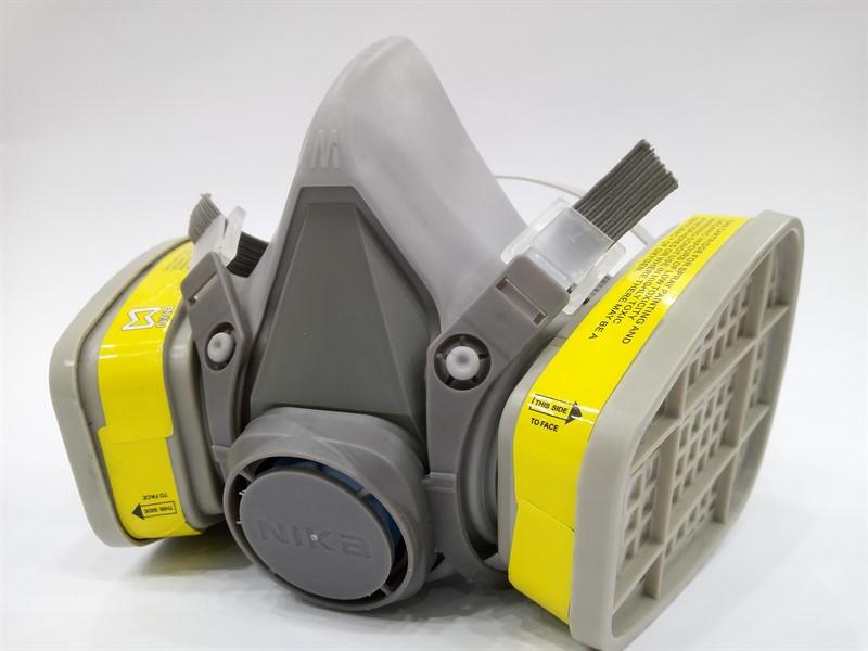 ماسک نیم صورت دو فیلتر مدل 6200