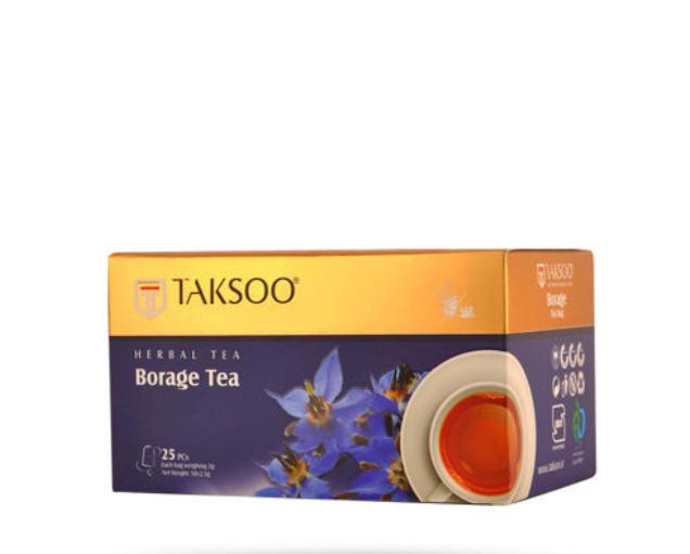 چای گل گاوزبان تکسو بسته ۲۵ عددی