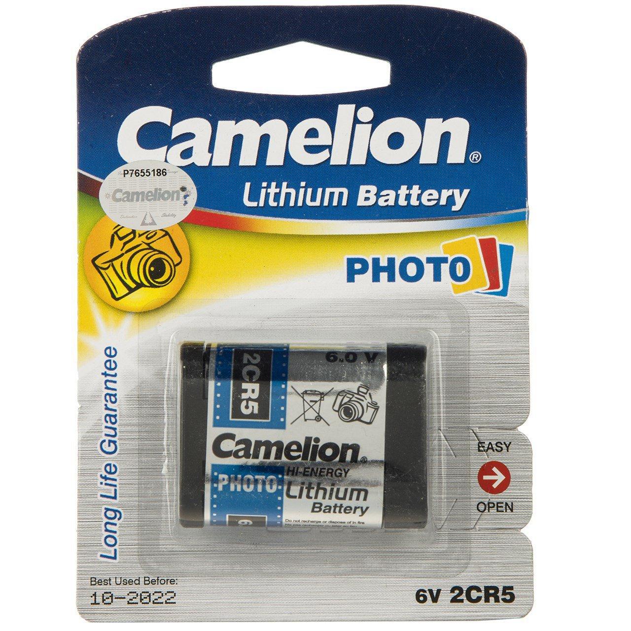 باتری لیتیومی 2CR5M کملیون مدل Photo