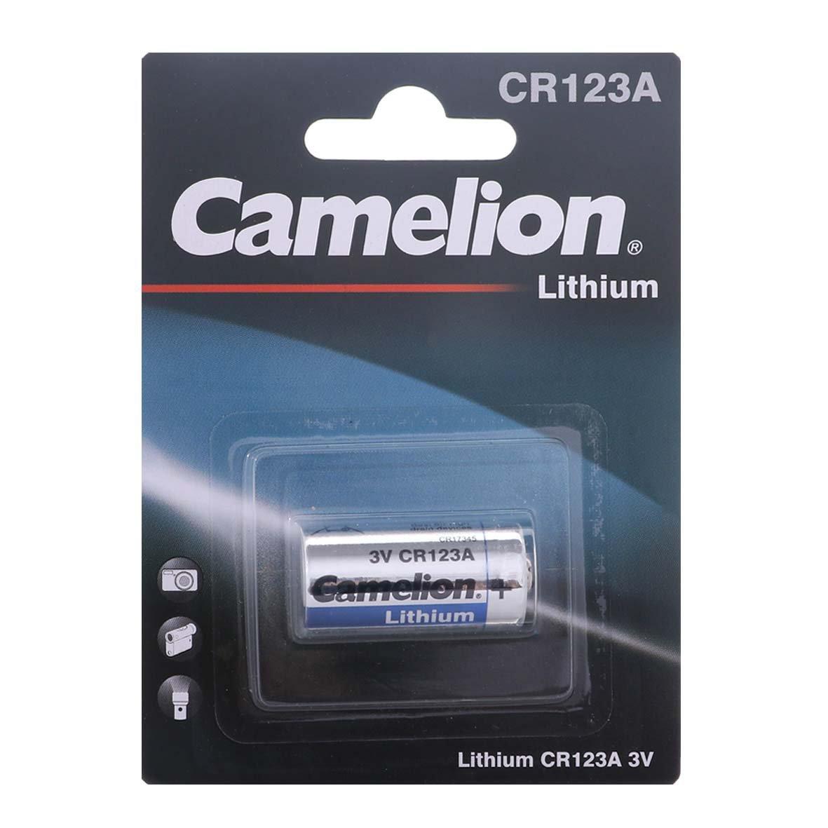 باتری کملیون مدل CR123A