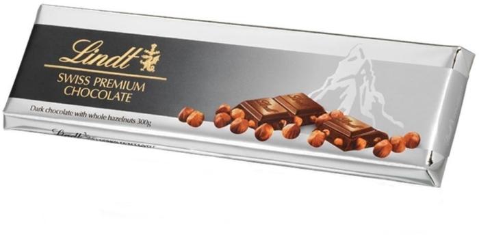 شکلات لینت پرمیوم فندقی 300 گرم
