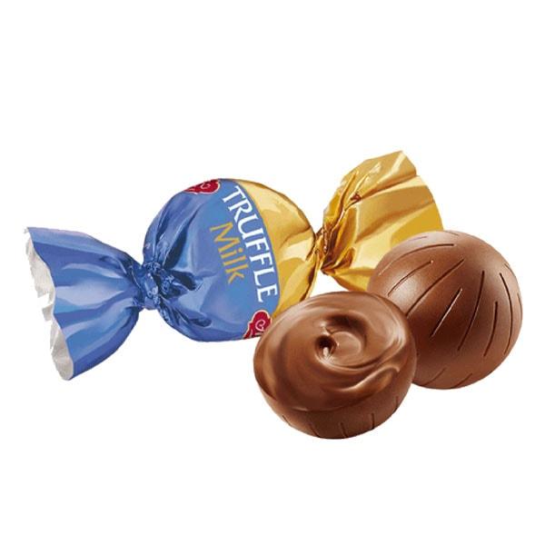 ترافل شکلات شیری ABK حجم 1 کیلوگرم