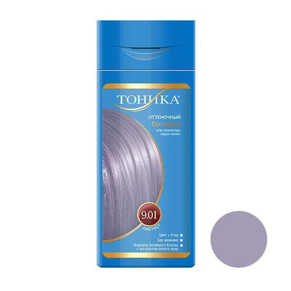 شامپو رنگ مو تونیکا شماره 9.01 حجم 150 میلی لیتر رنگ آمتیست