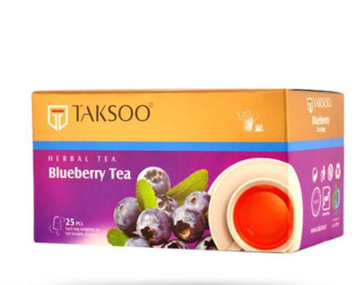 چای کیسه ای بلوبری تکسو بسته ۲۵ عددی