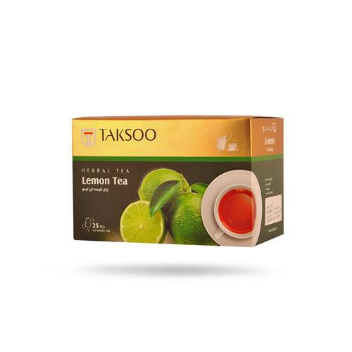 چای لیمو کیسهای تکسو 25 عددی