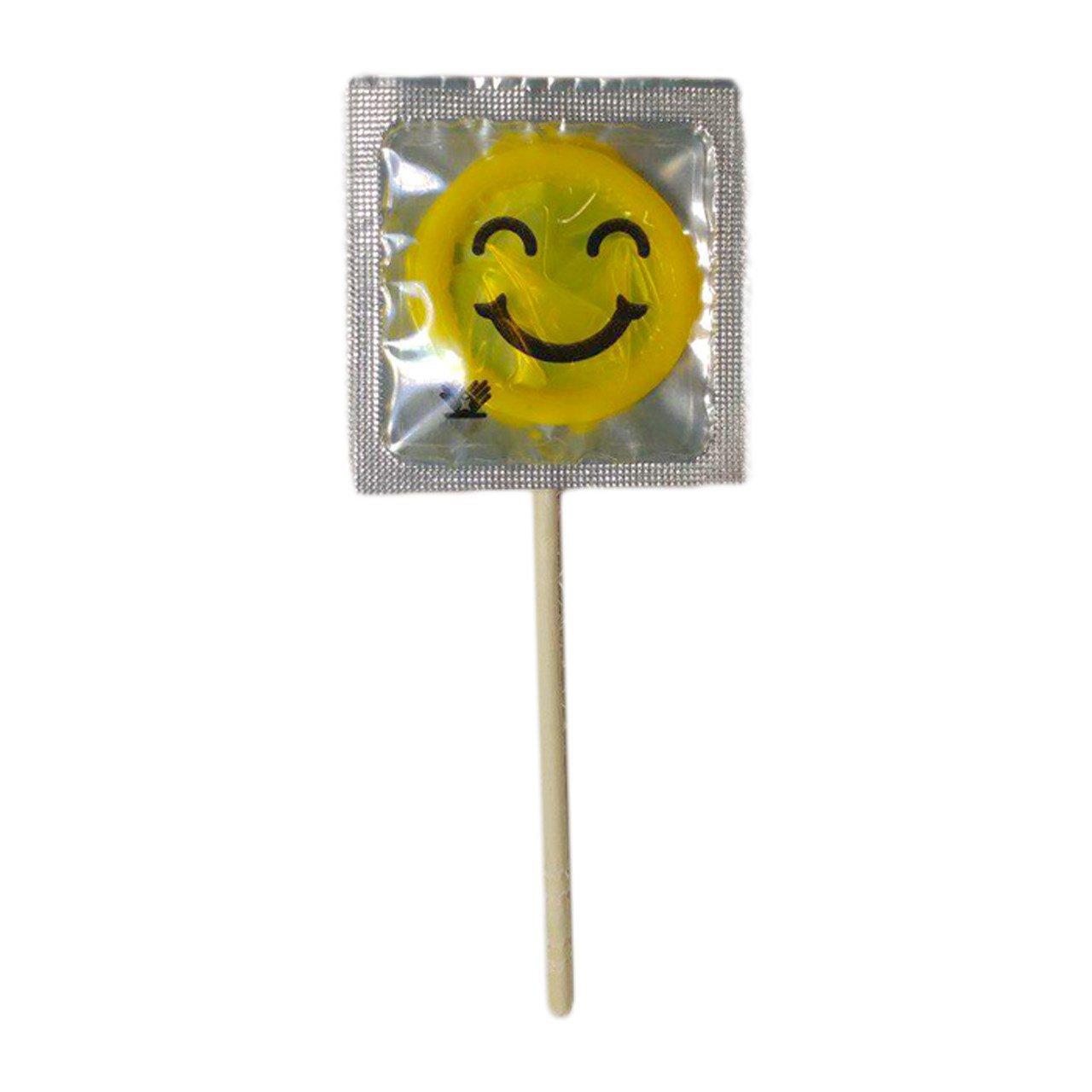 کاندوم با طرح آبنبات چوبی ایموجی Emoji