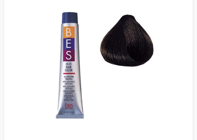 رنگ موی بس سری Natural مدل Very Dark Brown شماره 2.0
