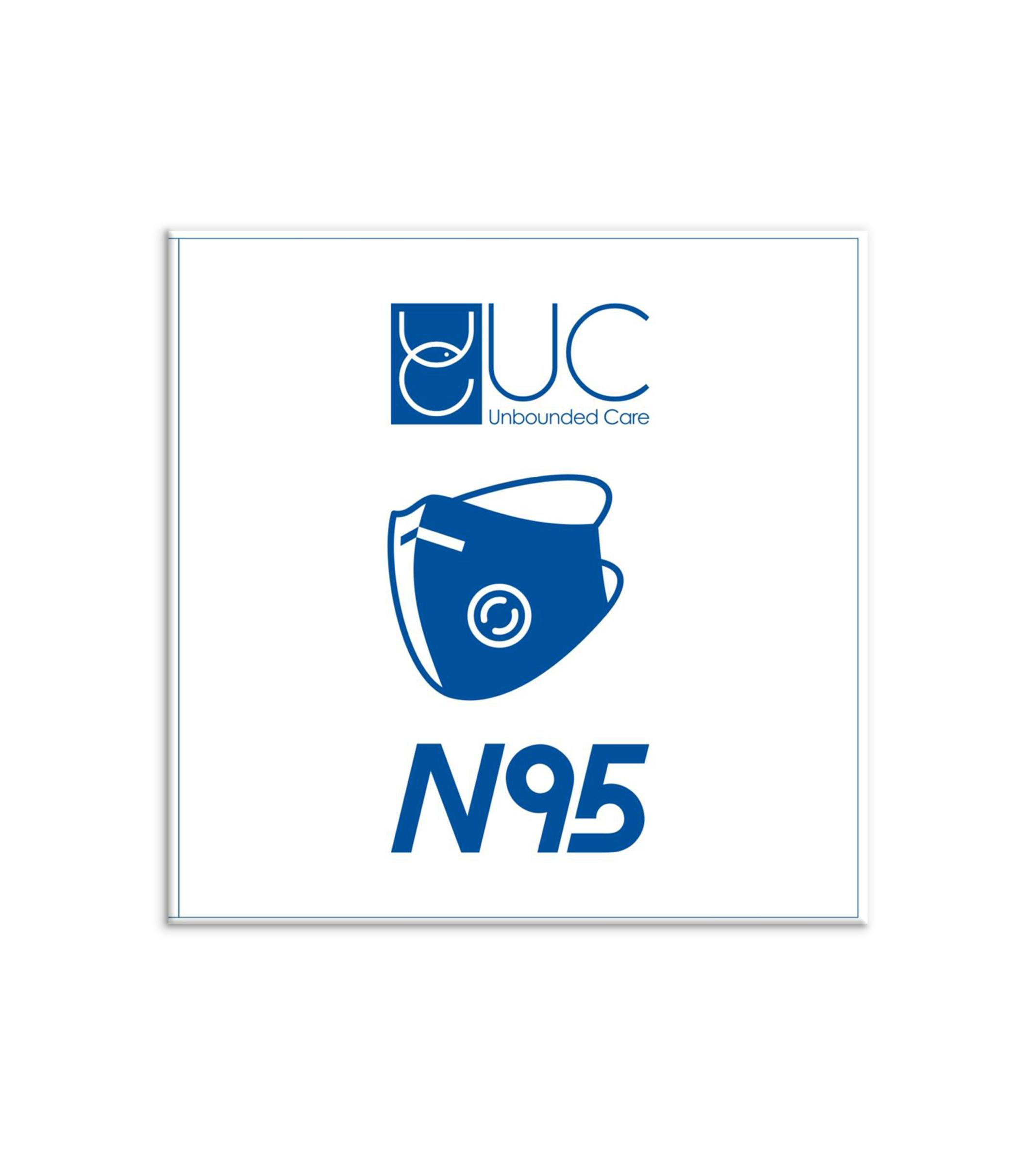ماسک تنفسی  UC N95 مدل HY8222 FFP2 کارتن 300 عددی