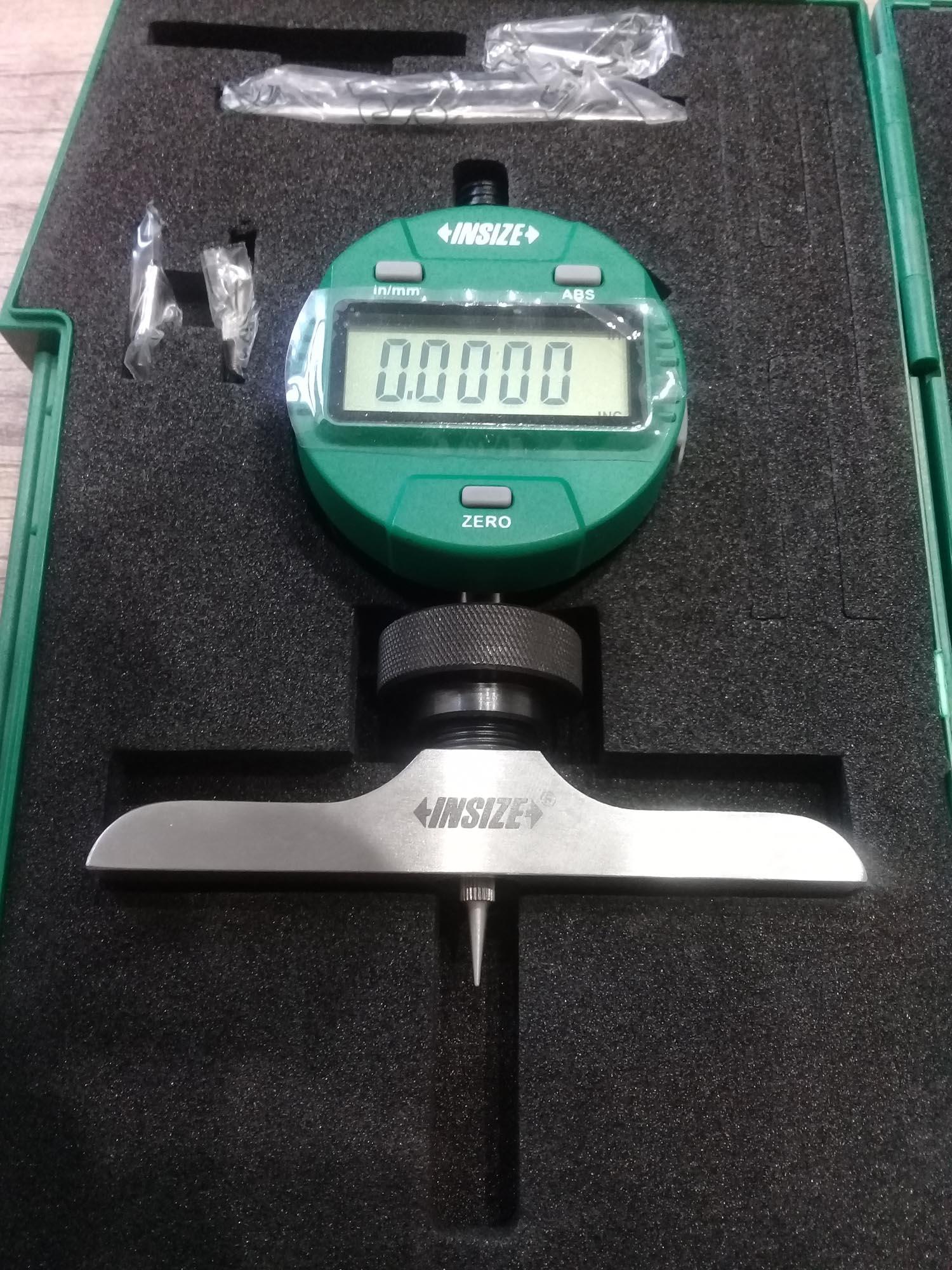 دستگاه عمق سنج دیجیتال INSIZE مدل 202A-2141