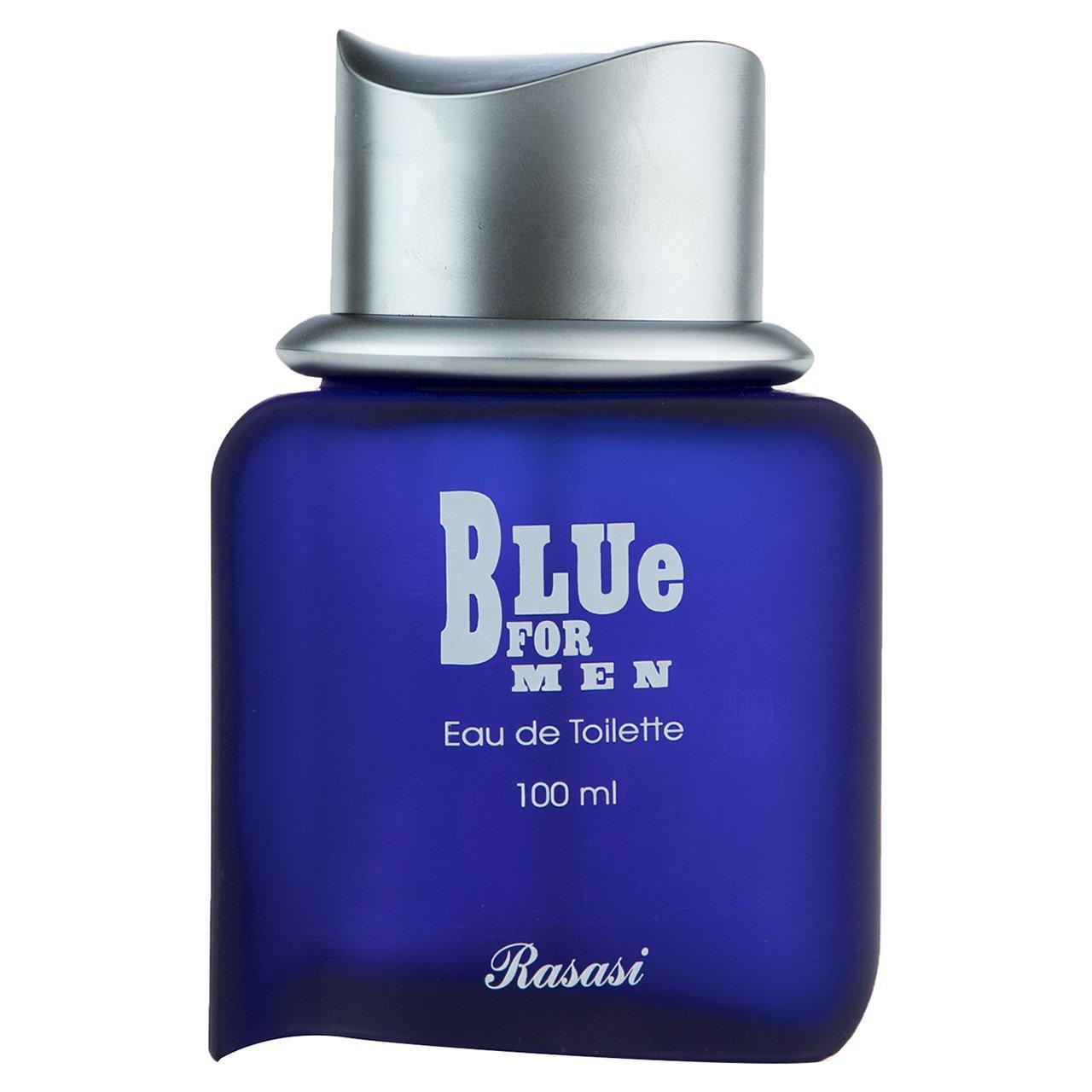 ادو تویلت مردانه راساسی مدل Blue حجم 100 میلی لیتر