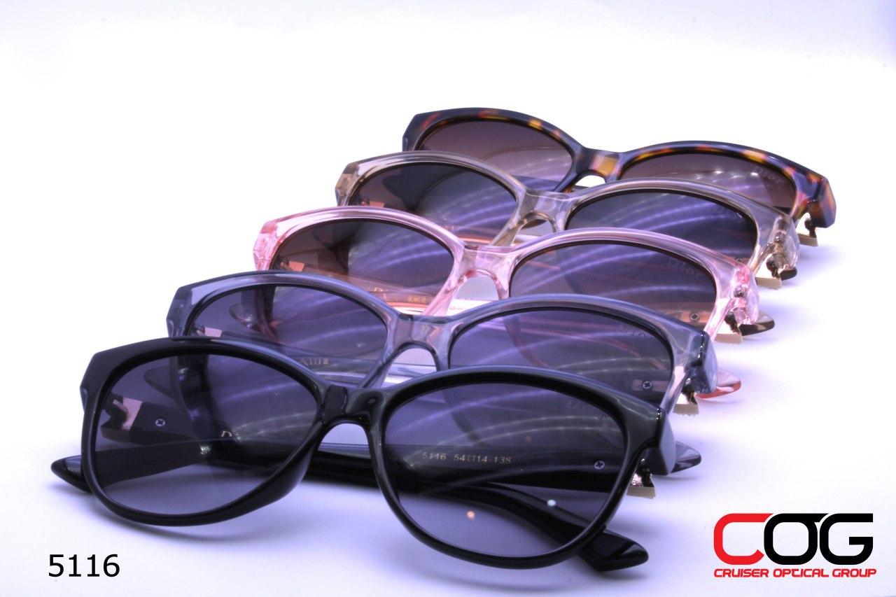 عینک آفتابی زنانه با طرح دیور کد 5116