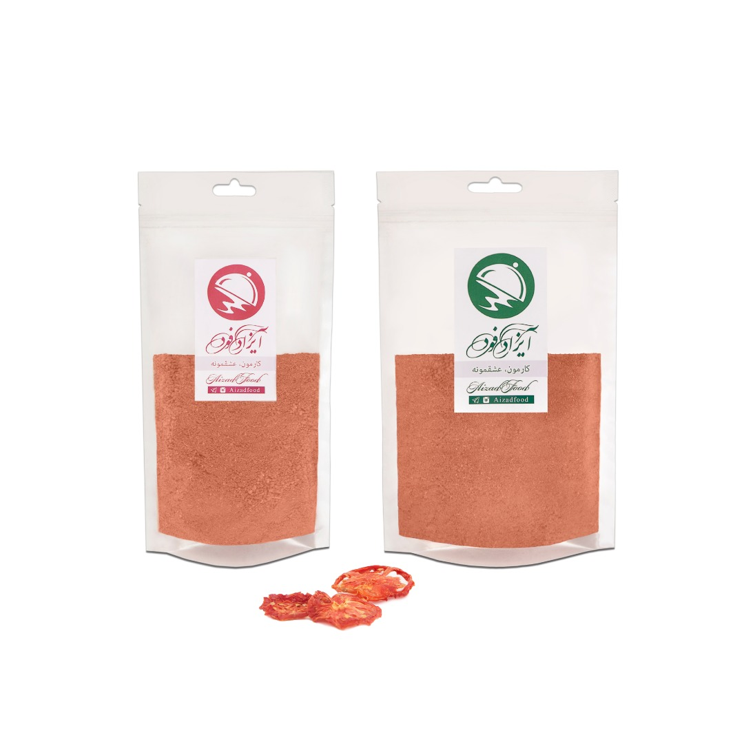 پودر گوجه خشک آیزادفود مقدار 300 گرم