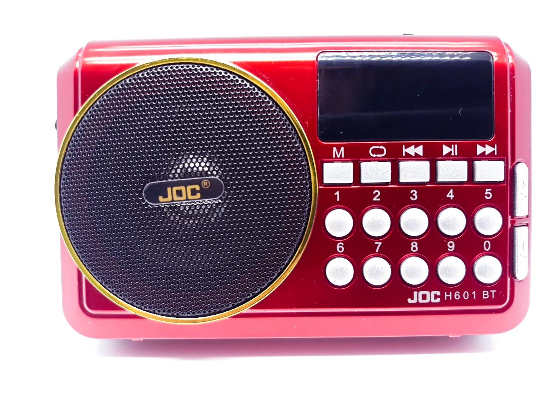 اسپیکر بلوتوثی قابل حمل joc مدل H601BT