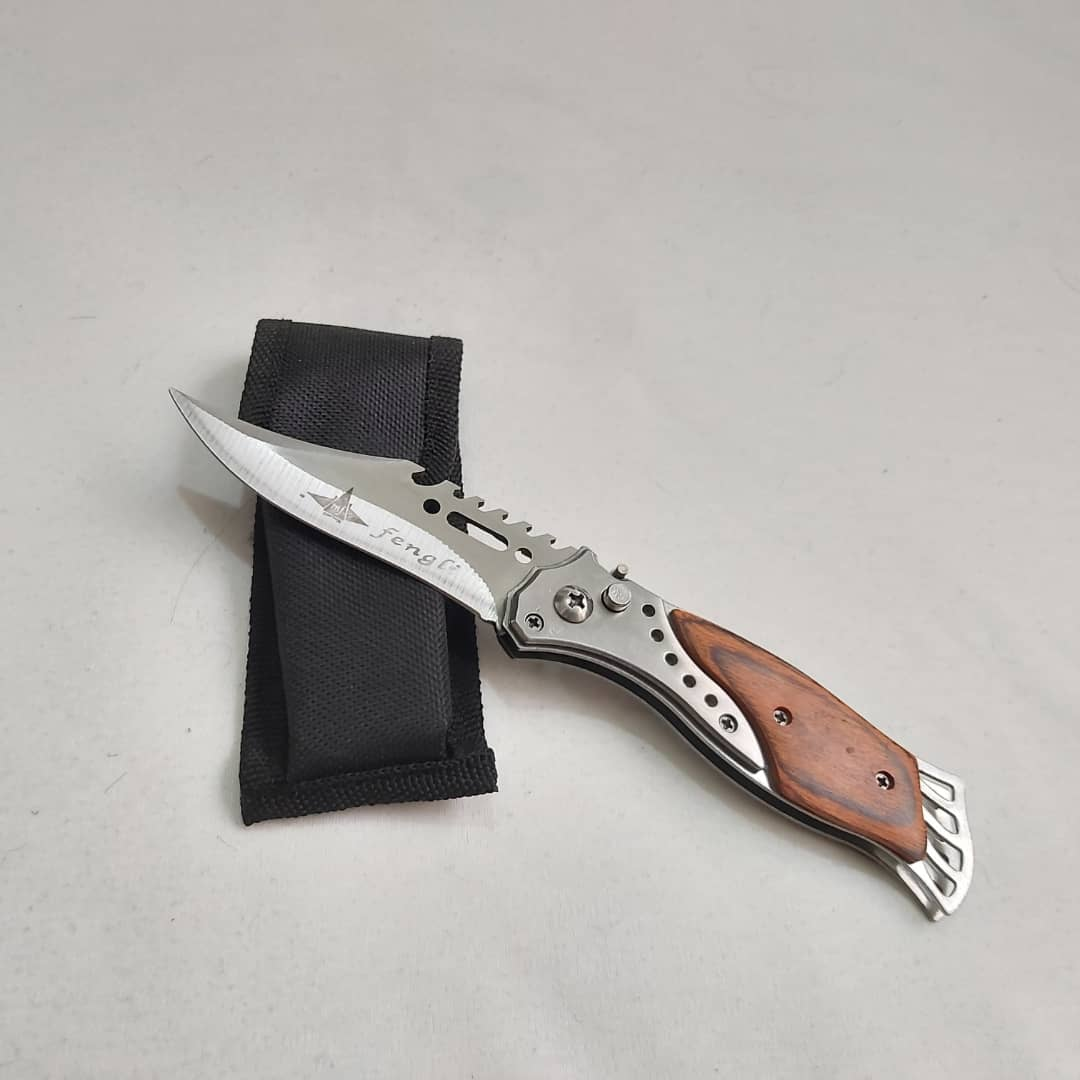 چاقوی شکاری طرح ماهی fengli