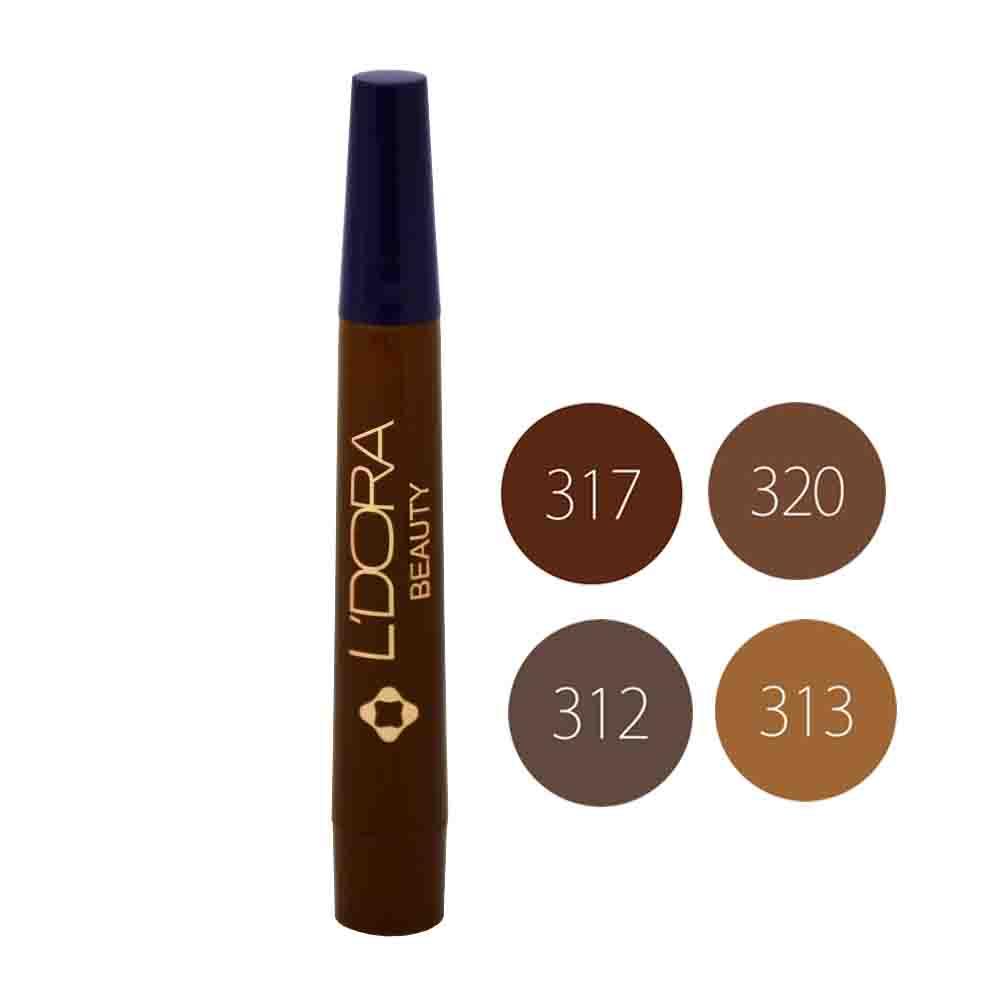 قلم هاشور ابرو لدورا 4 گرمی
