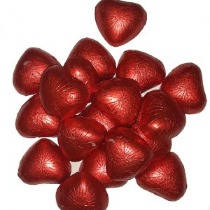 شکلات قلبی پذیرایی آیسودا حجم 1000 گرم