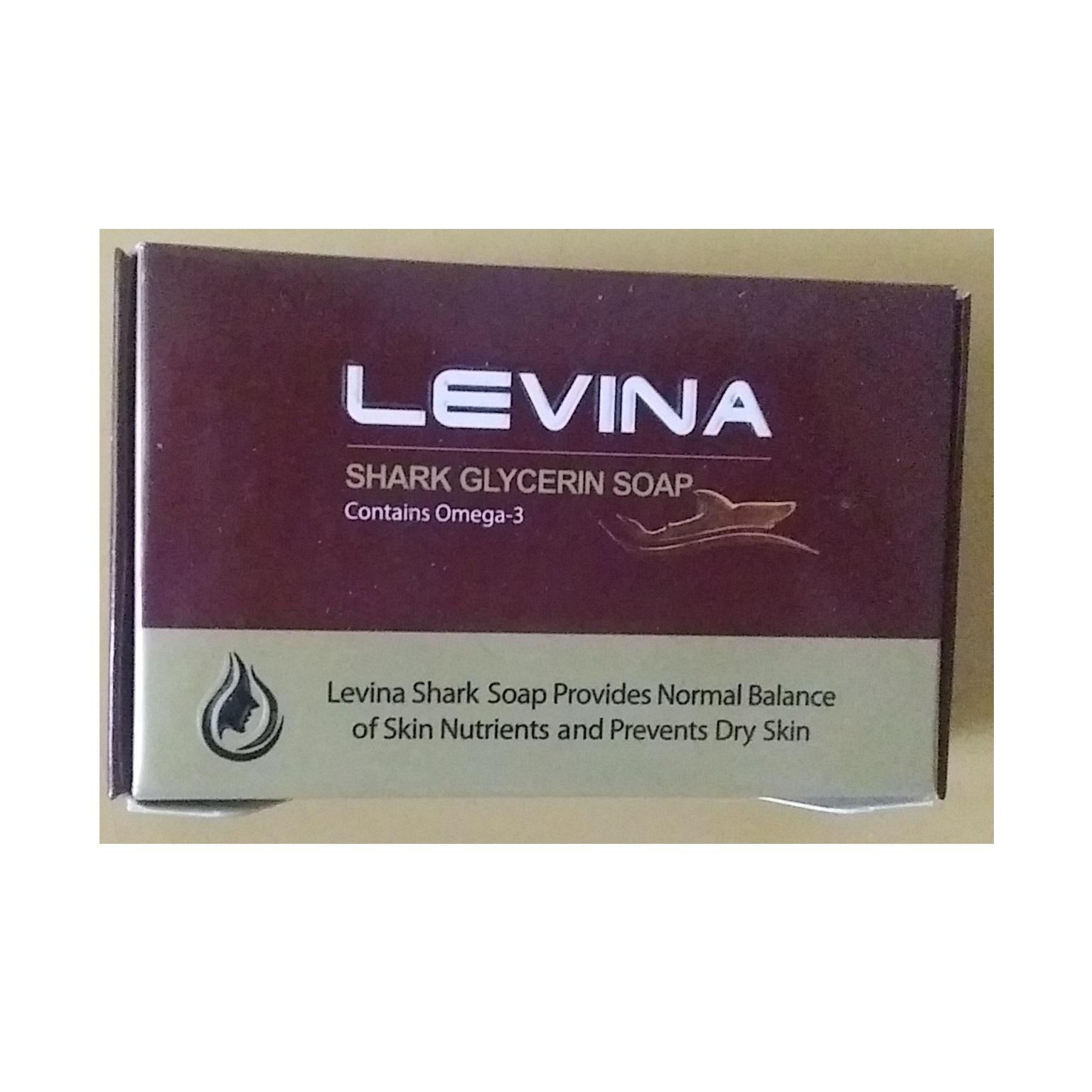 صابون کوسه لوینا حجم ۱۲۰ گرم
