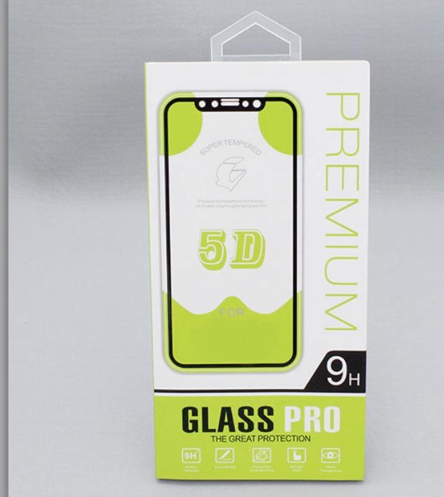 محافظ صفحه نمایش گلس 5D تمام صفحه مناسب برای گوشی سامسونگ مدل A8 plus 2018