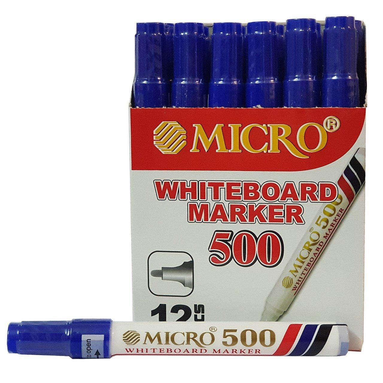 ماژیک وایت برد میکرو مدل 500 بسته 12 عددی