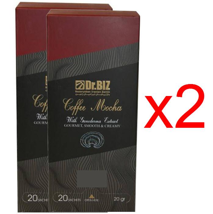 قهوه موکا گانودرما دکتر بیز پک 2 عددی ارسال رایگان