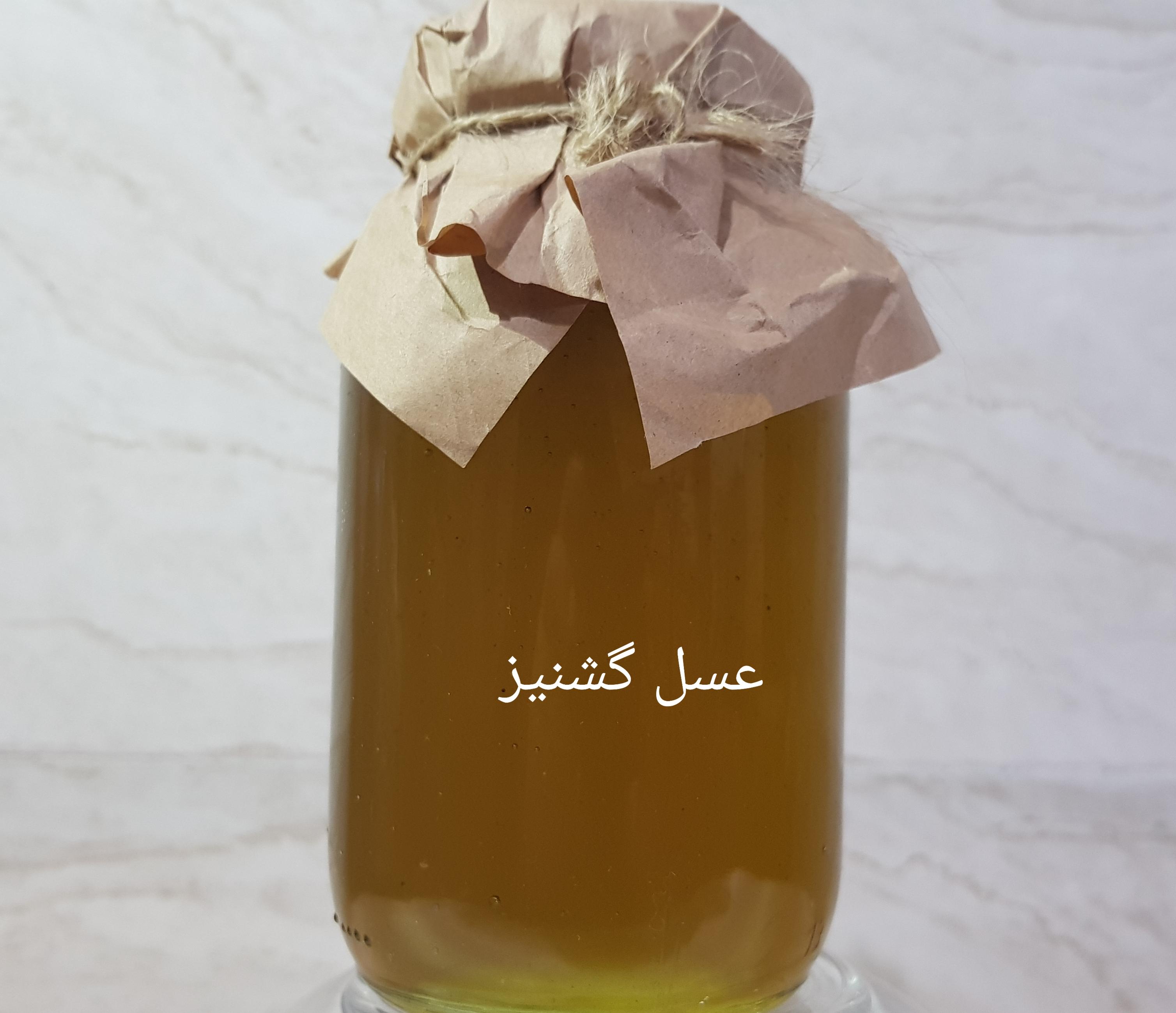 عسل گشنیز کوهی حجم 1000 گرم