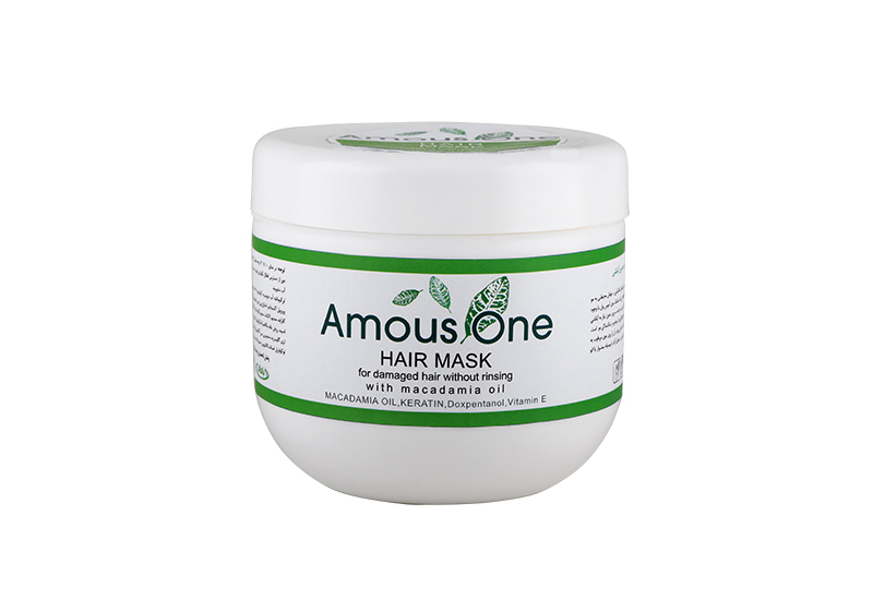 ماسک مو بدون آبکشی مخصوص موهای آسیب دیده حاوی روغن ماکادمیا 500 گرم