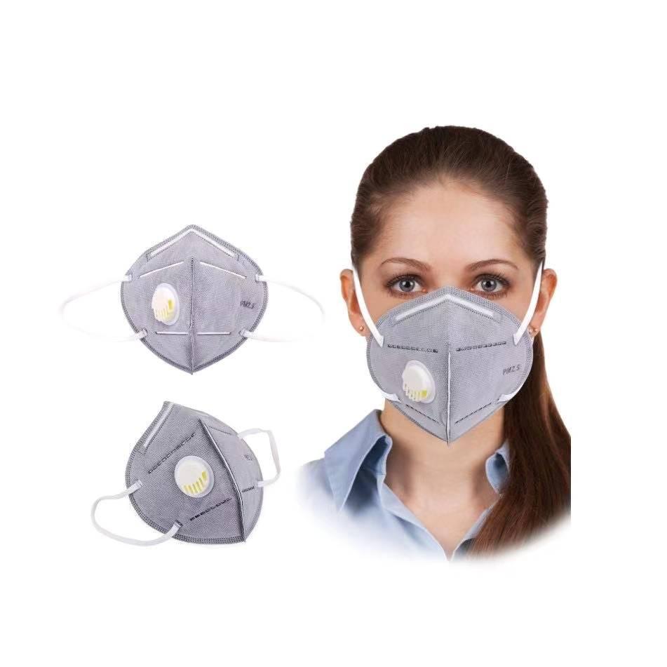 ماسک 5 لایه فیلتر دار قابل شستشو مدل N95