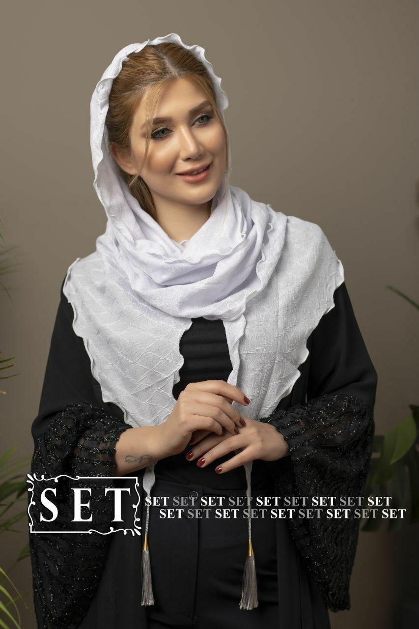 روسری زنانه نخ حصیری کد 2023