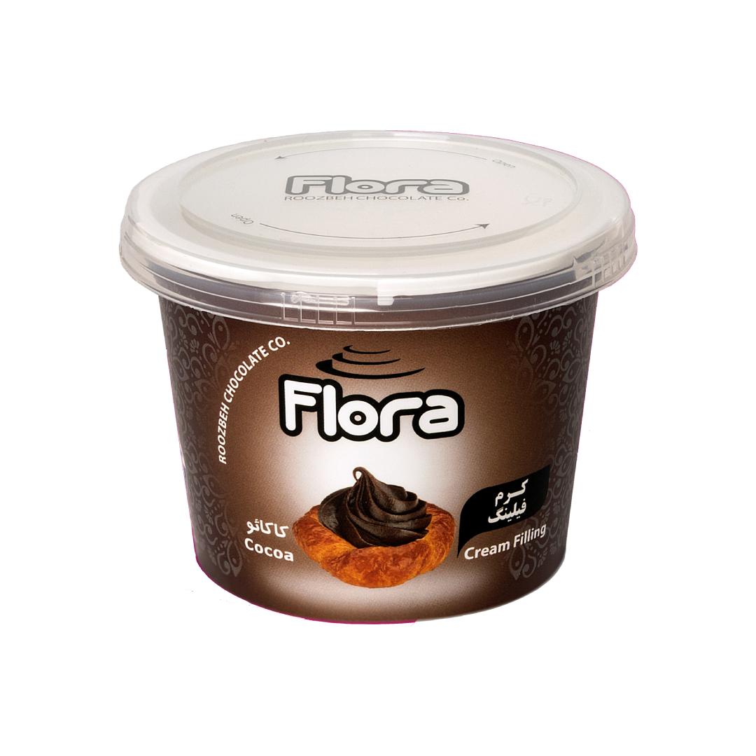 کرم فیلینگ کاکائویی فلورا 300 گرمی