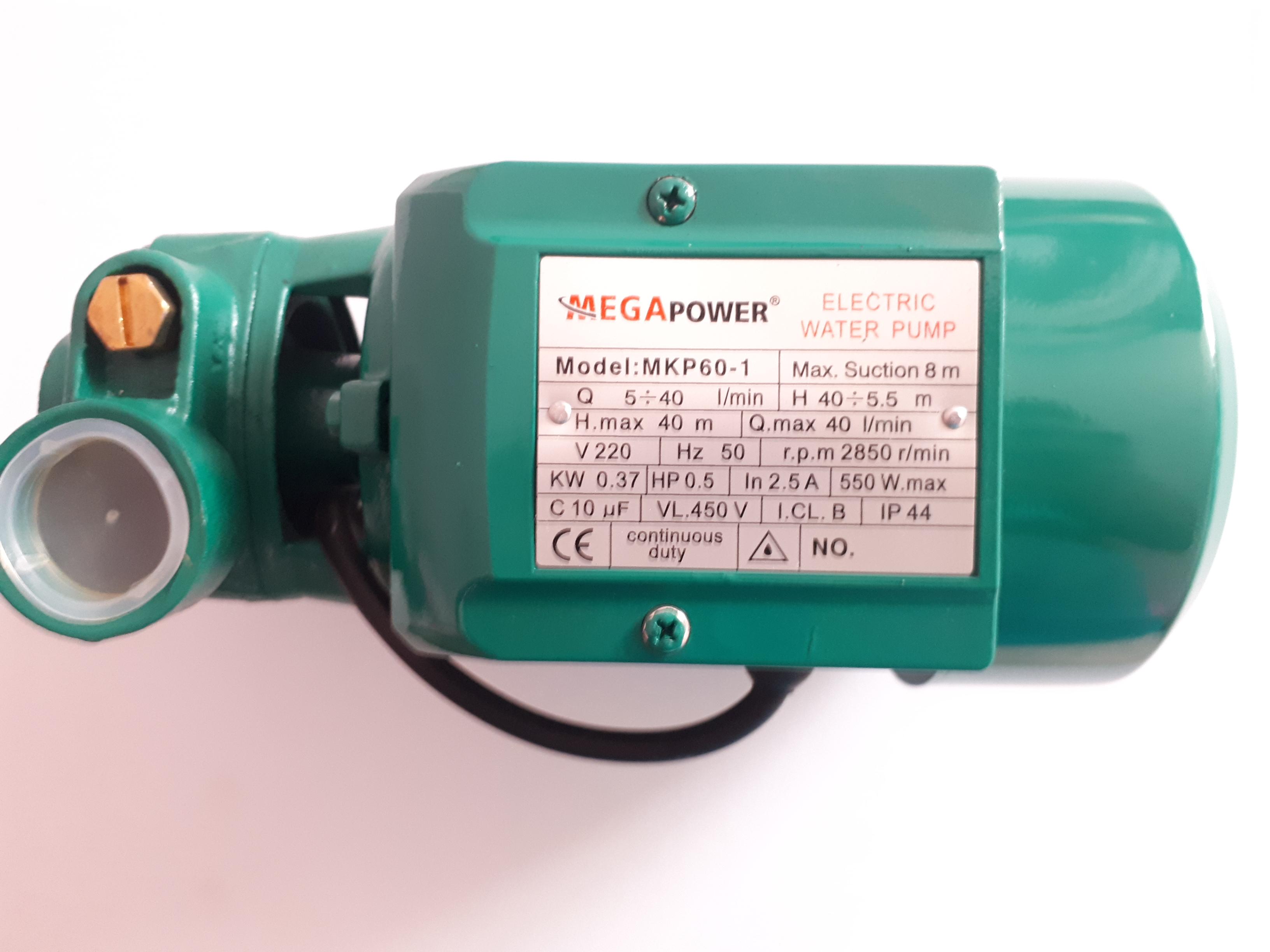 پمپ آب مگا پاور مدل MKP60-1