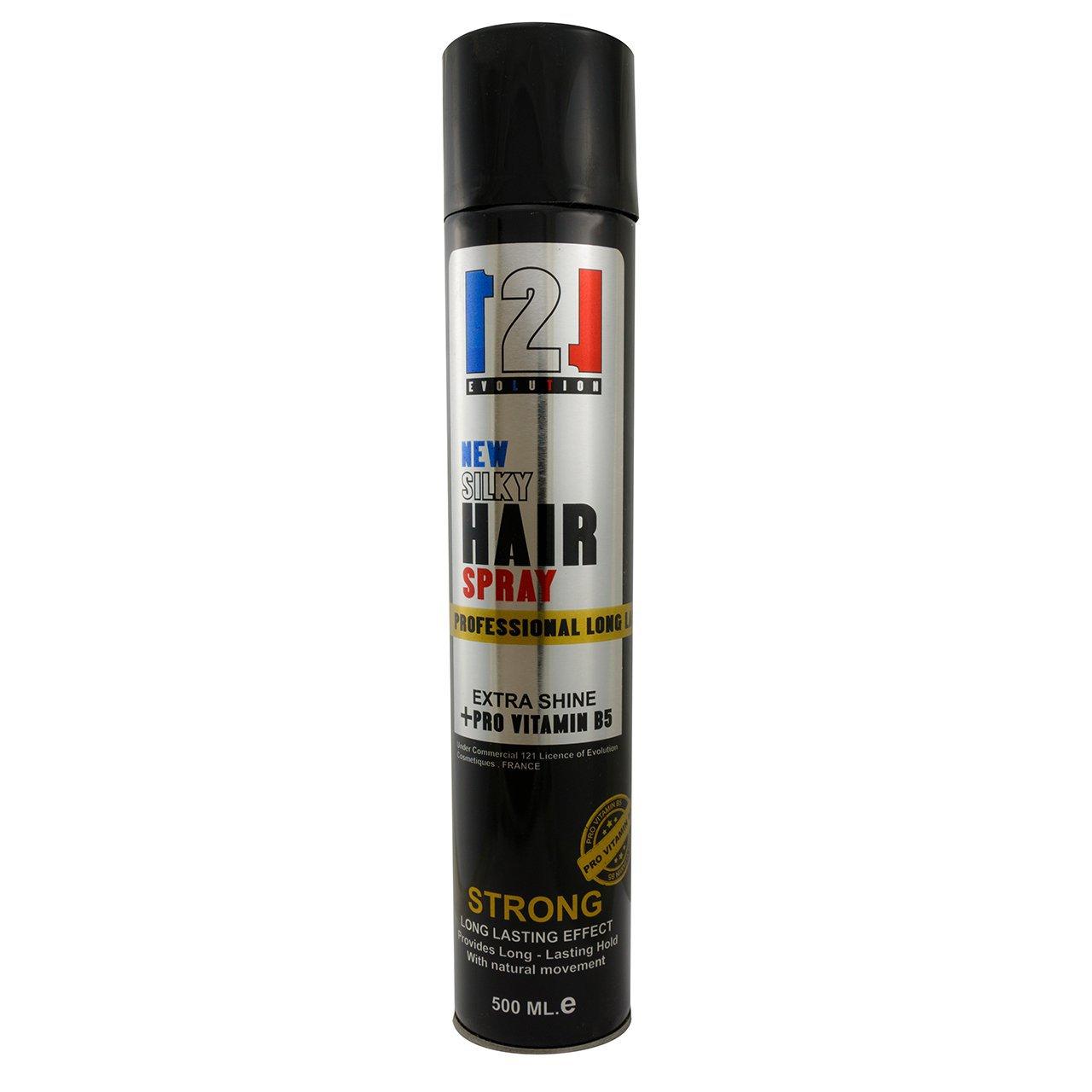 اسپری نگهدارنده مو 121مدل SILKY Hair حجم 500 میلی لیتر