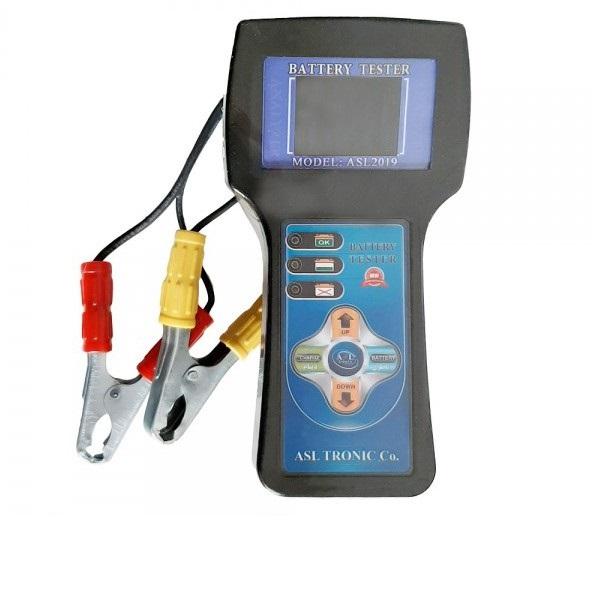 تستر باتری و دینام دیجیتالی سخنگو اصلترونیک مدل ASL2019