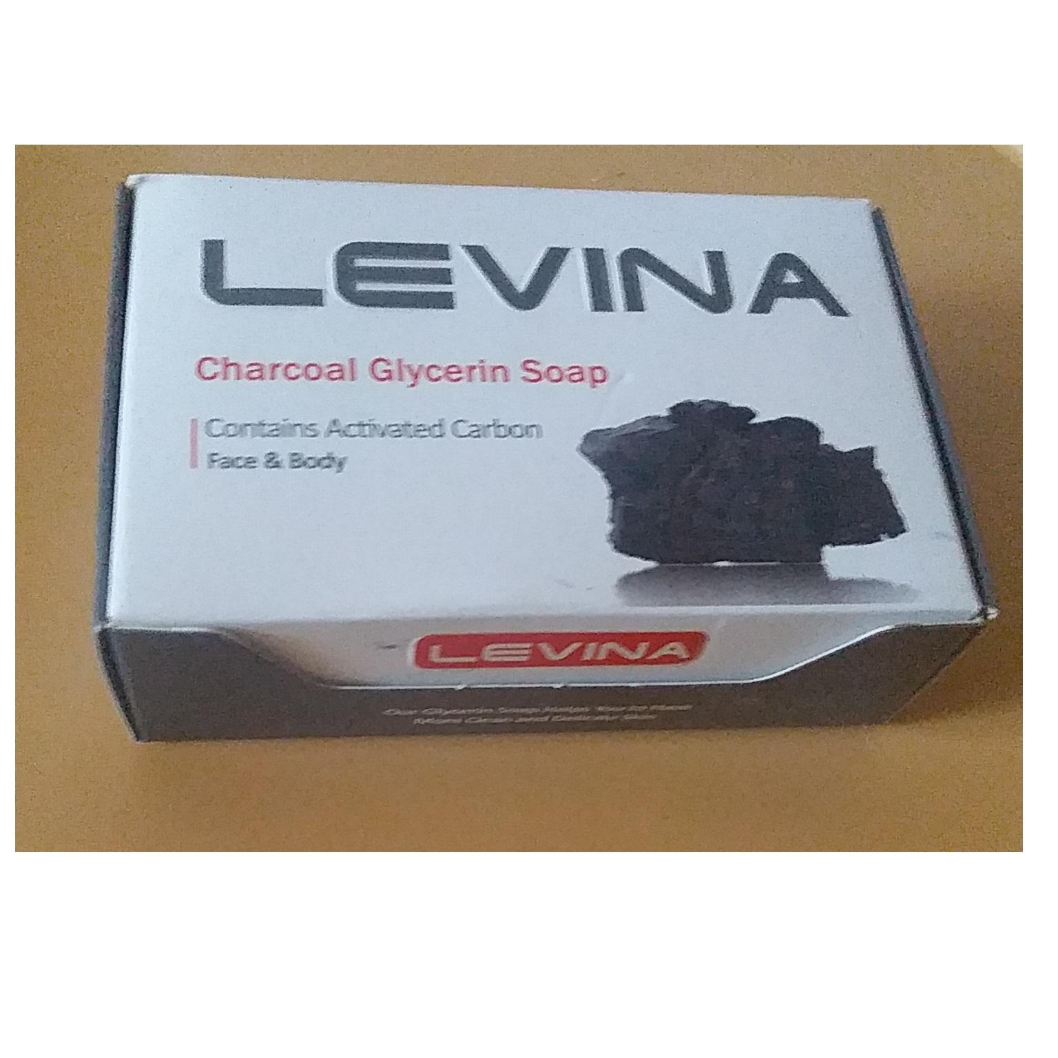 صابون گلیسیرینه ذغالی ۱۲۰ گرم حاوی کربن فعال