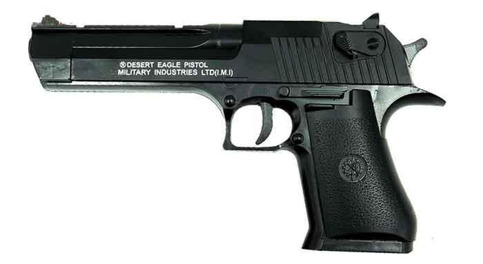 تفنگ اسباب بازی فلزی ساچمه ای مدل +C20