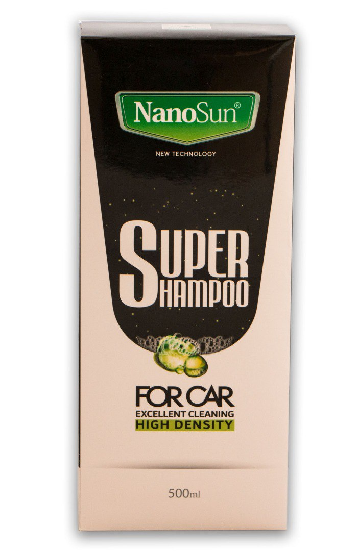 سوپر شامپو خودرو نانوسان ۵۰۰ میلی لیتر