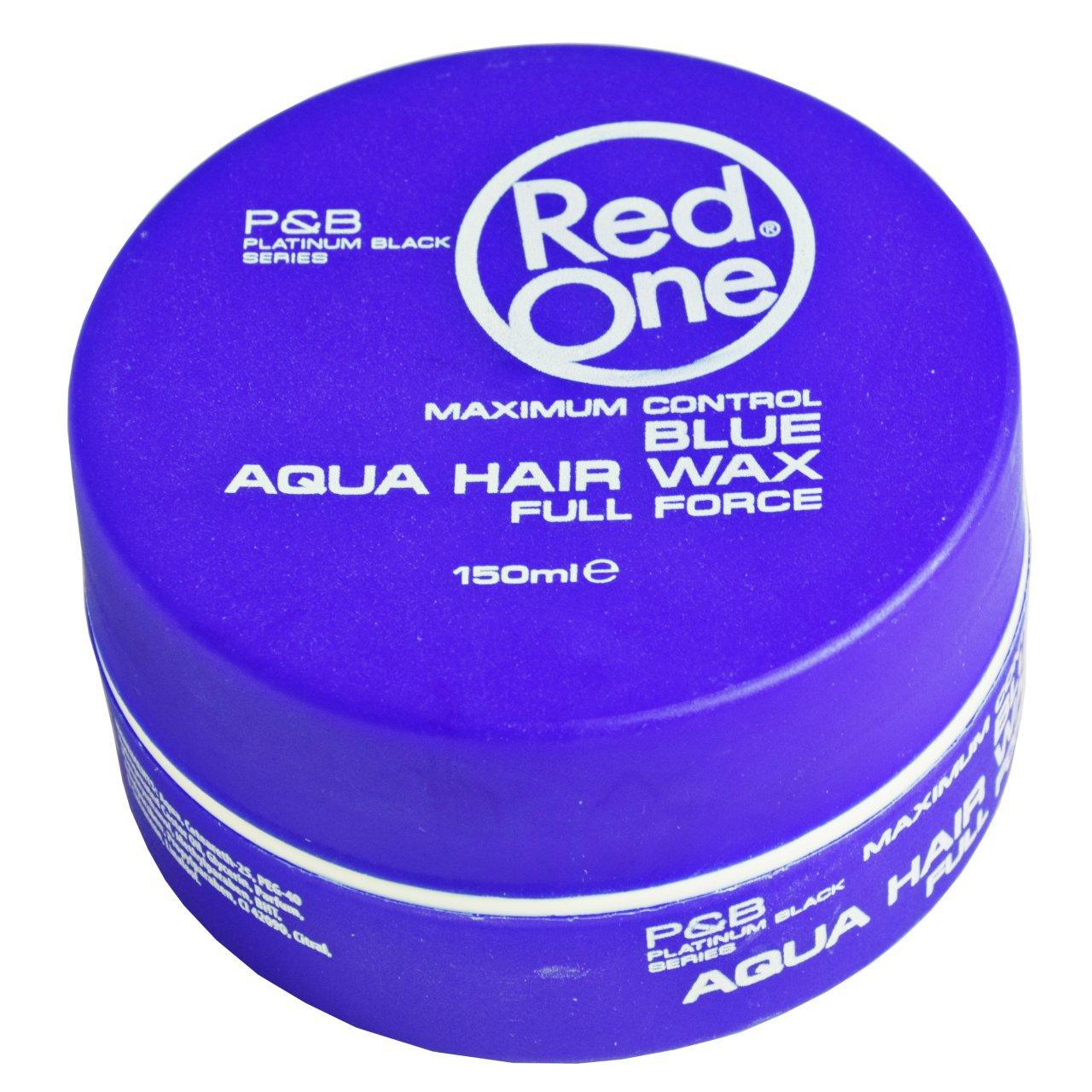 واکس مو رد وان مدل Aqua Blue حجم 150 میلی لیتر