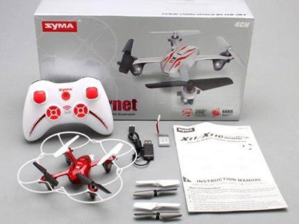 کواد کوپتر دوربین دار مدل Syma X11C