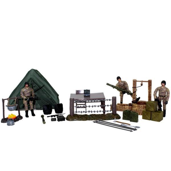 اکشن فیگور ام اند سی مدل Military Campsite 77083