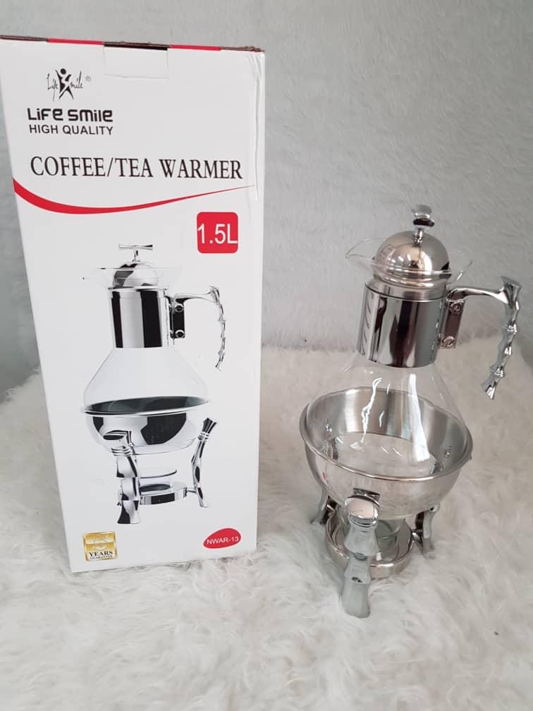 ظروف سوفله قهوه و چای پایه استیل مدل لایف اسمیل