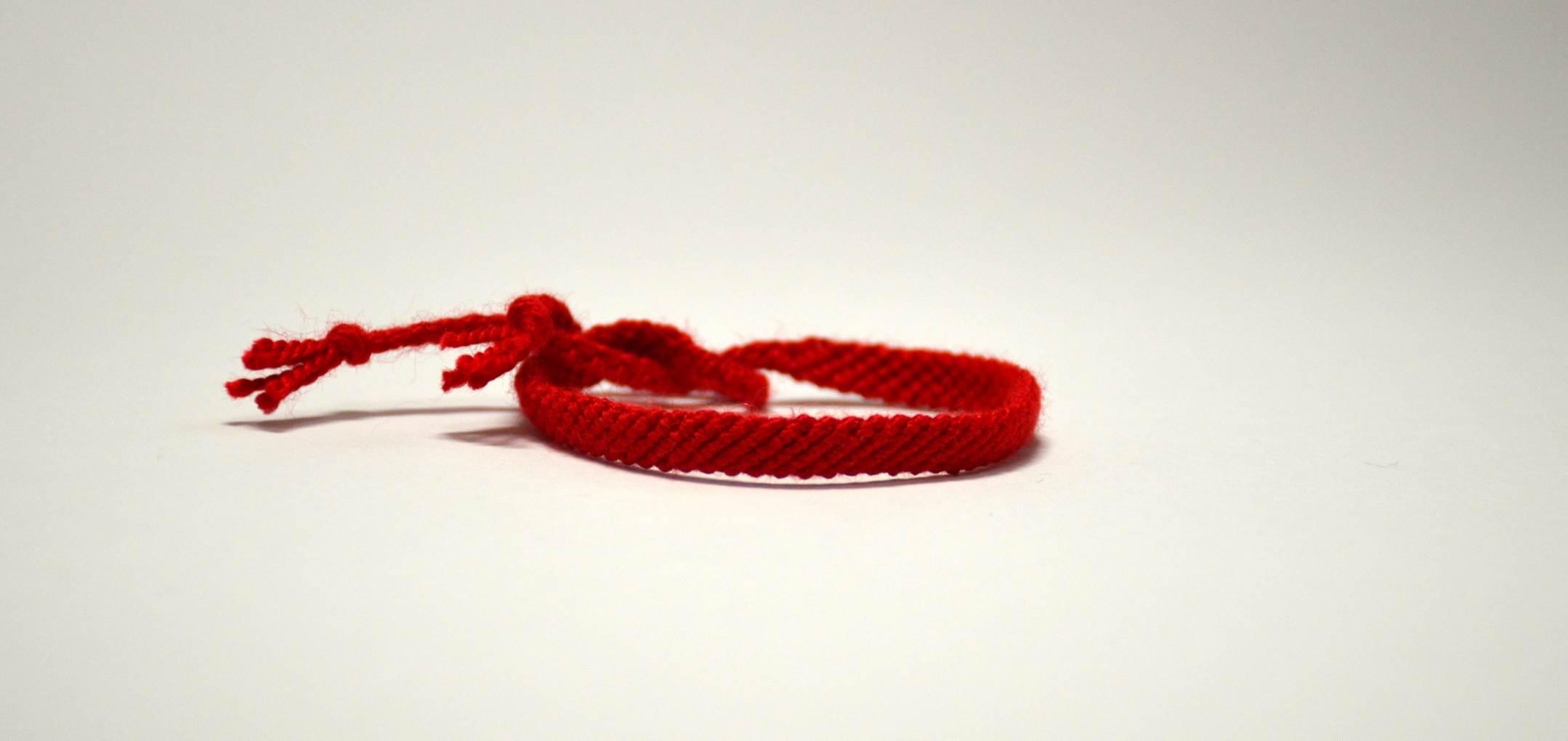 دستبند دوستی بافت طرح ساده کد BC_4