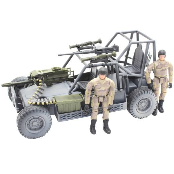 اکشن فیگور ام اند سی مدل Militery Buggy 77022