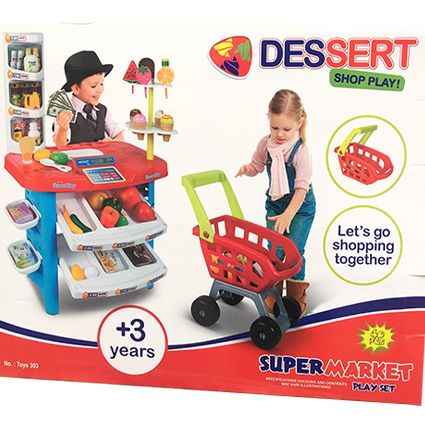 اسباب بازی سوپرمارکت مدل Dessert