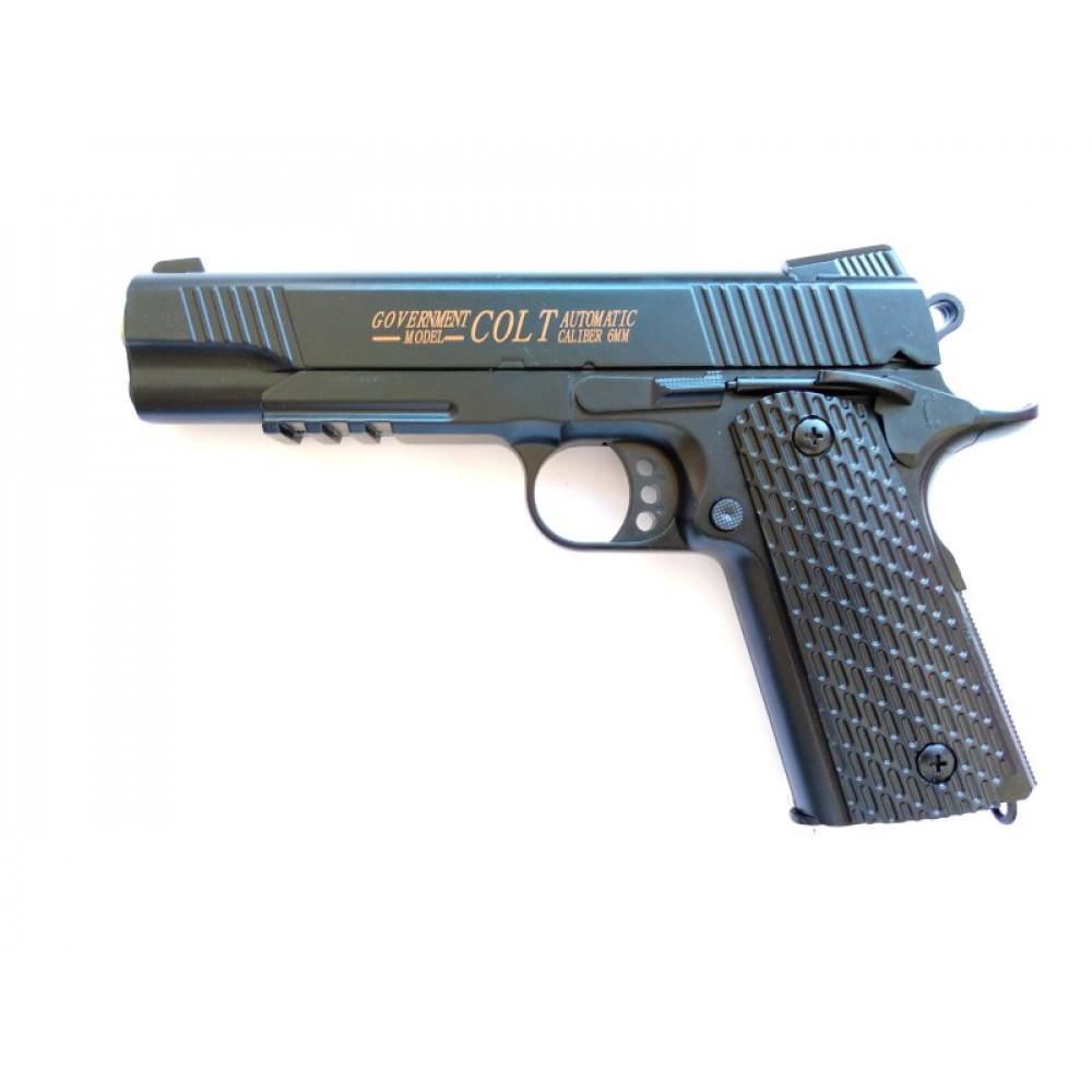 تفنگ کلت فلزی ساچمه ای ایرسافت گان مدل c.10A