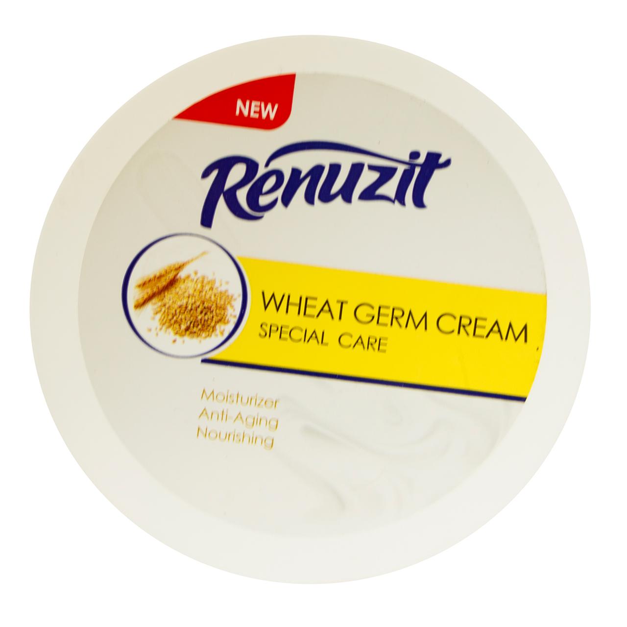کرم مرطوب کننده رینوزیت مدل Wheat germ حجم 200 میلی لیتر